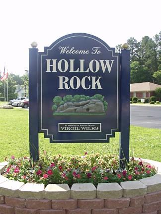 Larry Elliott Sign Amp Design Carved Signs Hollow Rock Sign