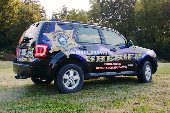 Elliott Design Carroll County Sheriff D A R E Vehicle
