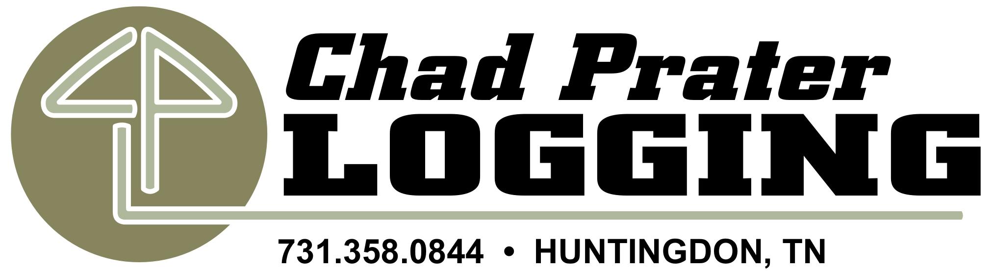 logo design prater logging by elliott design